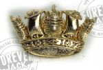 RN Crown Lapel (Gold or Silver)